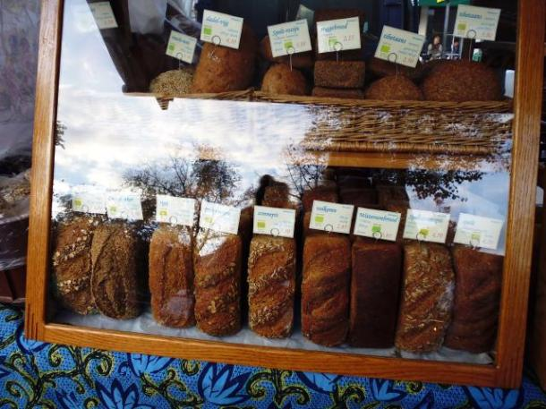 bread in display