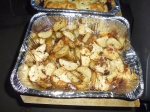 ROASTED POTATOES AND CAULIFLOWER ON THE GRILL
